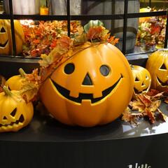 ハロウィン ハロウィンのスマイリーかぼちゃ