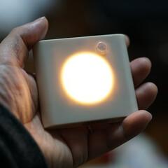 押し入れ/ワードローブ/電池式/センサーライト/ルームライト/オシャレ/... IKEAの人感センサー付きLEDライト(…