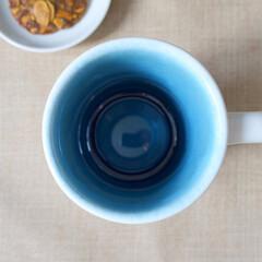 おうちカフェ/マグカップ/貫入加工/ロンハーマン/Ron Herman 陶器製で内側は貫入加工というこだわり!使…
