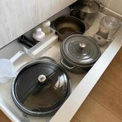 キッチン収納/ストウブ/IH下収納/収納/掃除/おうちごはん/... (2枚目)