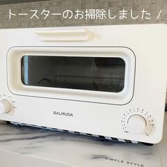 トースター掃除/BALMUDA/バルミューダトースター/バルミューダ/オーブントースター/トースター/... (1枚目)