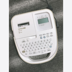 キングジム ラベルライター PRO SR170 | TEPRA PRO(ラベルプリンター)を使ったクチコミ「ついに…!!! ずっと欲しかったんです〜…」