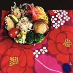 昼ごはん/マイ弁当/丸弁/お弁当/毎日/バランス良く/... 私の昼ごはん 今日のお弁当は昨日の夜の瓦…