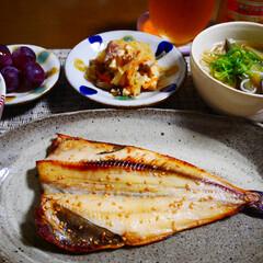 和食ご飯/ごちそうさまでした/おうちごはんクラブ/LIMIAごはんクラブ/LIMIA 最近食べた和食な晩御飯😋  ほっけが美味…