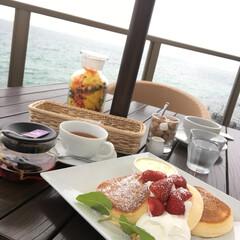 幸せのパンケーキ/うず潮/淡路島/旅行 先週は、国生みの地 淡路島に念願叶って行…
