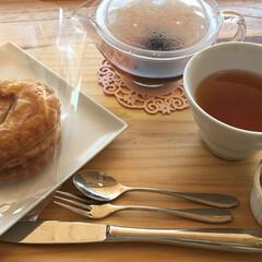 カフェランチ/住まい/おでかけ 今日ランチに寄ったカフェ(菓子工房)なん…(3枚目)