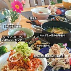 時短料理/日本食/和食/ランチ/お昼ご飯/作り置きレシピ/... 作り置きで サッサっとお昼ご飯🎵  作り…(2枚目)