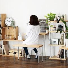 DIY/八幡ねじ/ironna./インテリアパーツ/テーブル/ローテーブル/...