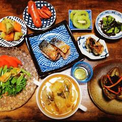 夕食/夕飯/晩御飯/魚料理/おうちごはん/家庭料理/... 連投、失礼します🙇♀️  いつかの夕食…