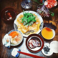 古伊万里/たち吉/めんつゆ/麺つゆ/器で食卓が変わる/器のある暮らし/... こんばんは😃🌃 いつも、いいね!コメント…