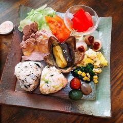 朝食/朝ご飯/ワンプレート/和食/和んプレート/おうちごはん/... こんにちは👋😃  いつも、いいね!フォロ…