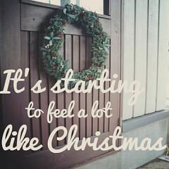ダイソー/100均/ハンドメイド/フレッシュリース/クリスマスリース/クリスマス/... キャンドルリースとお揃いで作った、フレッ…