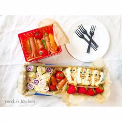 サンドイッチ弁当/サンドイッチ/遠足弁当/遠足/令和の一枚/はじめてフォト投稿/... 子どもの保育園の親子遠足弁当  今回はサ…