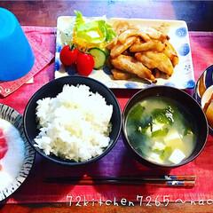 和食/食べ盛り/豚トロ/豚肉料理/息子ご飯/よるごはん/... 息子ご飯 *豚トロ焼き *大根の煮物 *…