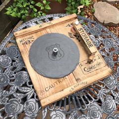 みんなにおすすめ/レコード/蚊取り線香/古材/ダイソー/ステンシル/... 外での作業には必需品の 『蚊取り線香』を…