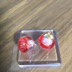 UVレジン/ハンドメイド/DIY/キャットタワー レジンの不思議😊⭐️⭐️⭐️  丸ガラス…