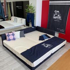 デニム/ベッド/寝具/ジーンズ/桃太郎ジーンズ/岡山/... 今週末から『ベッドフェア』が始まります‼…