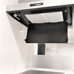 スターフィルター/換気扇/換気扇掃除/キッチン周り/フードカバー/掃除/... 数か月ぶりにレンジフードカバーを開けたら…