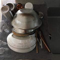 ジョージジェンセン/キッチン雑貨/キッチン/住まい ついに水切りかごを捨てました。さよなら、…