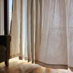 カーテン/大掃除/洗濯/無印良品 カーテンを洗うのは大掃除、ではなく夏!!…(1枚目)