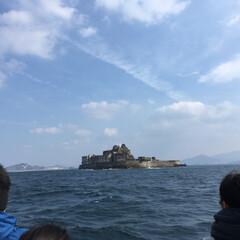 長崎/旅行/風景 長崎旅行2日目のメインは軍艦島上陸。天候…