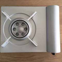 カセットコンロ/イワタニ/エコプレミアム/キッチン家電 10年使用してきた無印のカセットコンロか…