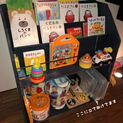 マイホーム記録/家づくり/子供のいる暮らし/おもちゃ収納/整理整頓/絵本棚/... 息子がパズル大好きでずっーとパズルしてま…(5枚目)