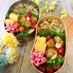 アルモンデ弁当/おべんとう/お弁当作り/お弁当/フォロー大歓迎/LIMIAごはんクラブ/... 冷蔵庫、冷凍庫にあるものを ガザカサ探し…