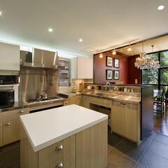 オープンキッチン/キッチン計画/住宅設計 ■使いやすいキッチンのポイント  ●作業…
