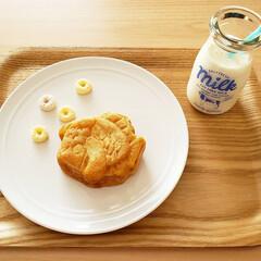 おやつ/たい焼き/たい焼きくん/和菓子/スイーツ/フォロー大歓迎/... およげたいやきくんのたい焼き可愛い💕(1枚目)