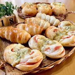 焼き立てパン/手作りパン/パン/LIMIAごはんクラブ/おうちごはんクラブ/わたしのごはん  ・ポテマヨチーズパン ・ポテマヨカレー…(2枚目)