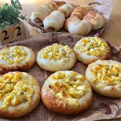 惣菜パン/お家パン/焼き立てパン/手作りパン/パン/フォロー大歓迎/...  子供たちのリクエストパン!  惣菜パン…