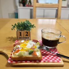 お家カフェ/おうちごはん/朝ごはん/朝ゴパン/暮らし/フォロー大歓迎  シチューパンで朝ゴパン