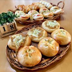 焼き立てパン/手作りパン/パン/LIMIAごはんクラブ/おうちごはんクラブ/わたしのごはん  ・ポテマヨチーズパン ・ポテマヨカレー…