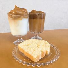 パウンドケーキ/手づくりおやつ/タルゴナコーヒー/新生活/暮らし/節約 午後からまたリベンジ!! おやつにパウン…