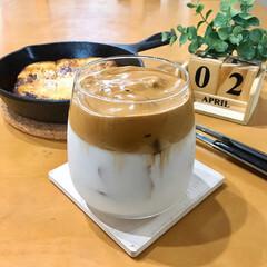 タルゴナコーヒー/朝ごはん/お家カフェ  話題の。 ダルゴナ?タルゴナ? どっち…