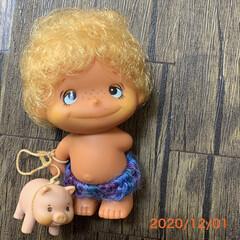 お人形/雑貨/レトロ/アンティーク かなり年代物のお人形を、実家から持ってき…