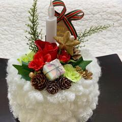 クリスマスケーキ/クリスマス2019/キャンドゥ/ダイソー/セリア/100均/... クリスマスケーキ🎂 クリームたっぷりなん…