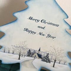 トールペイント/お正月2020/DIY/キッチン収納/雑貨/ハンドメイド/... クリスマスから、そのままお正月まで… こ…