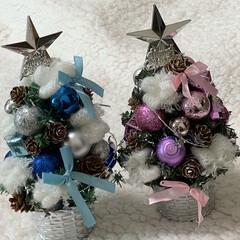 クリスマス/ツリー/クリスマス2019/リミアの冬暮らし/キャンドゥ/ダイソー/... またまた100均ツリー見つけたので、飾り…