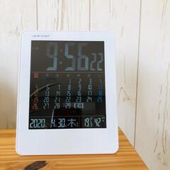 リビングあるある 温度計🌡と時計🕰