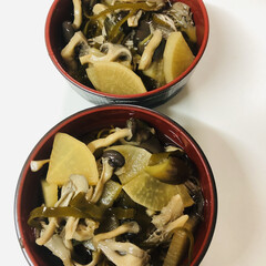 おうちごはん/節約/簡単/おうちご飯/お気に入りの食器/こだわりのテーブル お家ご飯 きのこタップリ蕎麦作りました😉(1枚目)