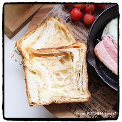 パナソニック/The Roast/ブリューコーヒー/ワンプレートごはん/朝ごはん/スキレット/... 京都 #アンデ 『デニッシュ食パン メー…(2枚目)