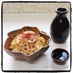 中華材料 輪切り唐からし ユウキ食品 20g(その他調味料、料理の素、油)を使ったクチコミ「かけてチン♪温菜おかずdeピリ辛‼︎れん…」