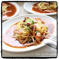 手抜き料理/ミラカン/ヨコイのソース/あんかけスパゲティ/なごや飯/eatpickアンバサダー/... ヨコイのソースdeミラカン🍝  おは…