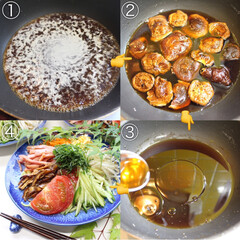 梅雨/AMEMIYA/冷やし中華/料理好きな人と繋がりたい/EATPICKレシピ/クックパッドレシピ/... 冷やし中華〜始めました♬  おはよう…(2枚目)