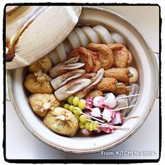 土鍋/和食/おでん/名古屋風おでん/ゆで卵はビストロ調理/クックパッドrecipe/... おでん🍢  おはようございます🤗 …