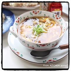和食器のある暮らし/器好きな人と繋がりたい/料理好きな人と繋がりたい/九谷焼/織部焼/深川製磁/... パパッとできる、中華三昧🇨🇳  こん…(2枚目)