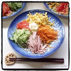 料理好きな人と繋がりたい/器好きな人と繋がりたい/萬泉/アメブロやってます/日本の匂いは、醤油っぽい/発祥はスガキヤ/... 冷やし中華始めました🌻  こんにちは…