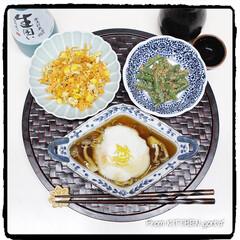 和ンプレート/和御膳/和食器のある暮らし/和食/いんげんの胡麻和え/にんじんしりしり/... 旬の野菜♬かぶを使って‼️かぶら蒸しde…